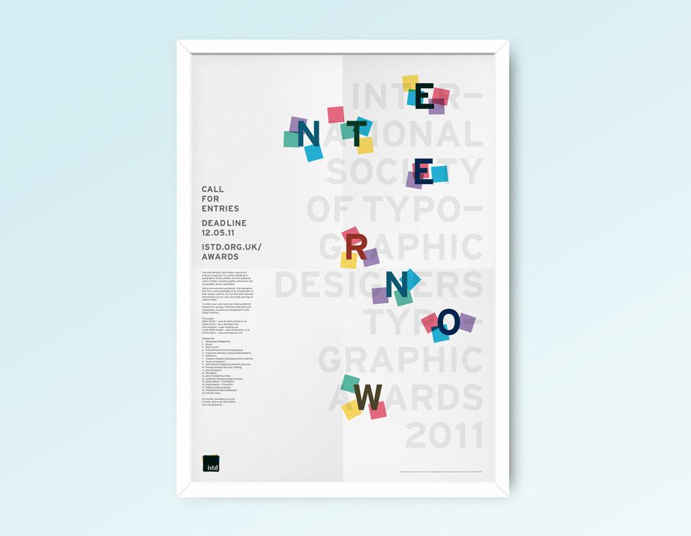 ISTD awards poster
