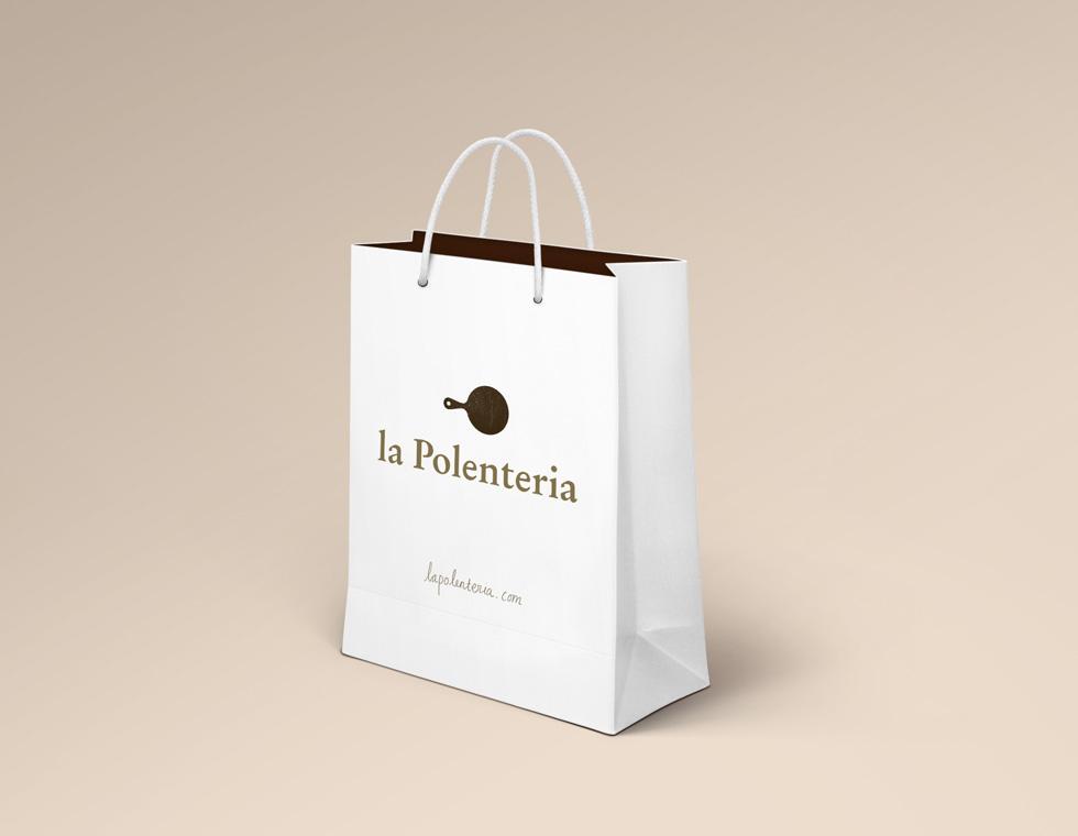 la Polenteria takeaway bag